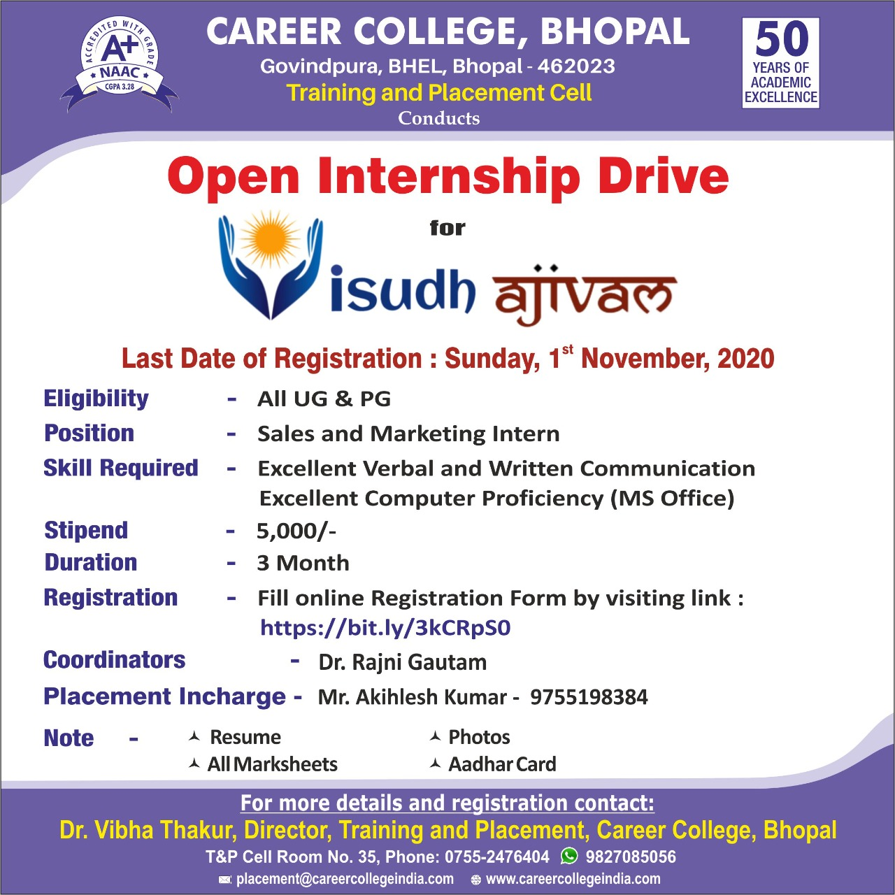 Career College Bhopal